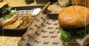 Burger z ziemniakami zdrowa krowa - Zdrowa krowa