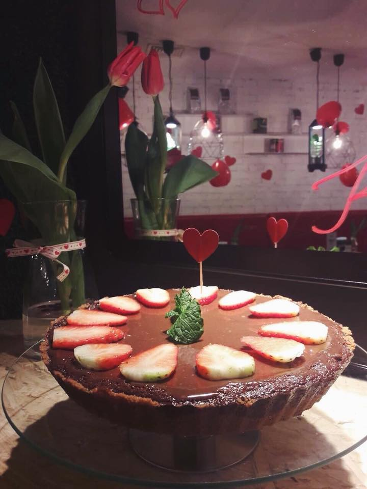 Walentynki w Zdrowej Krowie! - ciasto walentynkowe w Zdrowa Krowa