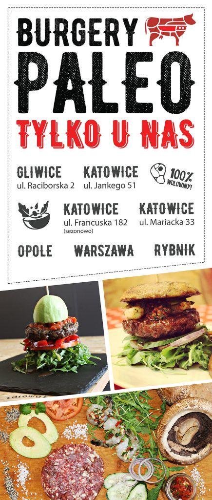 Awokado Burger - powraca! - Burgery Paleo w naszych restauracjach