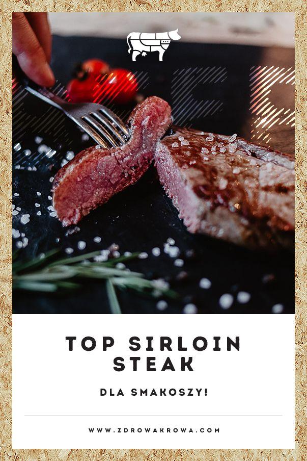 Steki z sezonowanej wołowiny! - top sirloin steak
